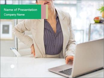 Business woman PowerPoint Template - Slide 1