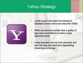 Business woman PowerPoint Template - Slide 11