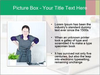 Business woman PowerPoint Template - Slide 13