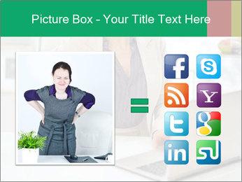 Business woman PowerPoint Template - Slide 21