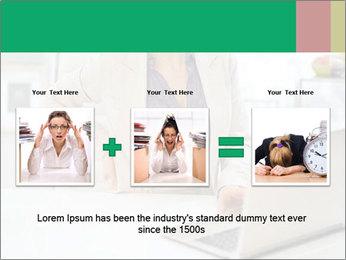 Business woman PowerPoint Template - Slide 22
