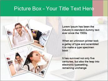 Business woman PowerPoint Template - Slide 23