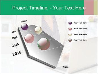 Business woman PowerPoint Template - Slide 26