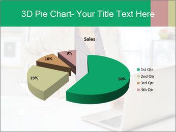 Business woman PowerPoint Template - Slide 35