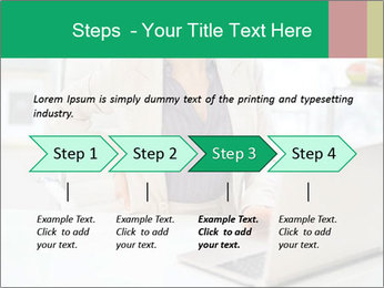 Business woman PowerPoint Template - Slide 4