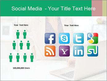 Business woman PowerPoint Template - Slide 5