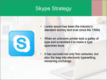 Business woman PowerPoint Template - Slide 8