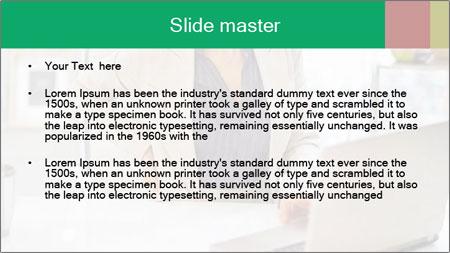 Business woman PowerPoint Template - Slide 2