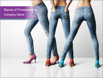 Ideal body PowerPoint Template
