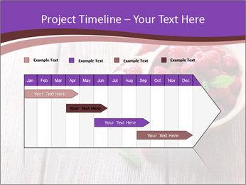 Ripe sweet raspberries PowerPoint Template - Slide 25