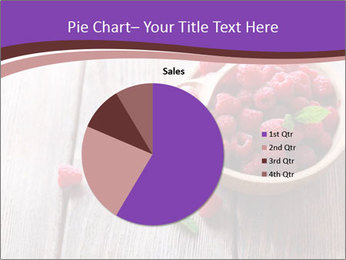 Ripe sweet raspberries PowerPoint Template - Slide 36