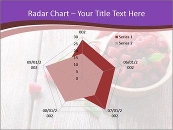 Ripe sweet raspberries PowerPoint Template - Slide 51