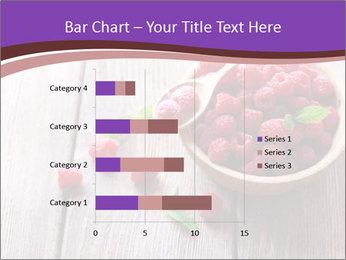 Ripe sweet raspberries PowerPoint Template - Slide 52