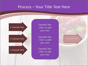 Ripe sweet raspberries PowerPoint Template - Slide 85
