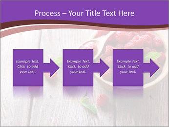 Ripe sweet raspberries PowerPoint Template - Slide 88