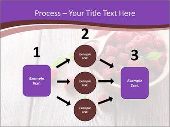 Ripe sweet raspberries PowerPoint Template - Slide 92