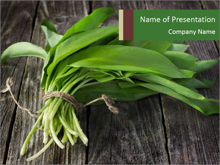 Ramson bunch PowerPoint Templates