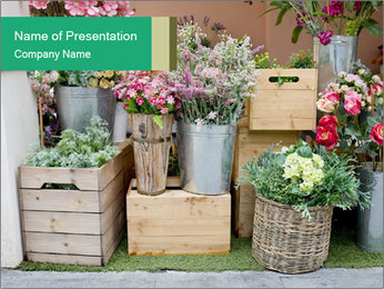 Flower Shop PowerPoint Template