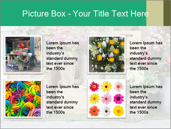 Flower Shop PowerPoint Templates - Slide 14