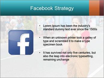 Beautiful woman dressed in sari PowerPoint Template - Slide 6