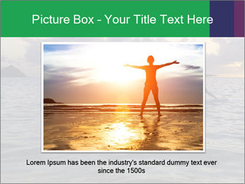 Woman doing yoga PowerPoint Template - Slide 15