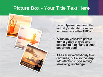 Woman doing yoga PowerPoint Template - Slide 17
