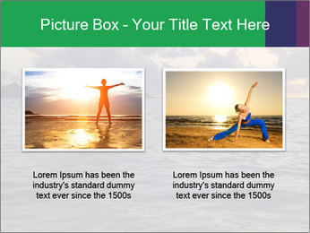 Woman doing yoga PowerPoint Template - Slide 18
