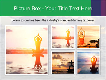 Woman doing yoga PowerPoint Template - Slide 19