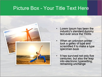 Woman doing yoga PowerPoint Template - Slide 20