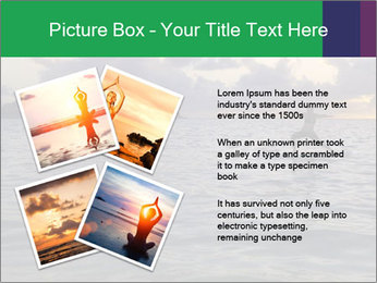Woman doing yoga PowerPoint Template - Slide 23