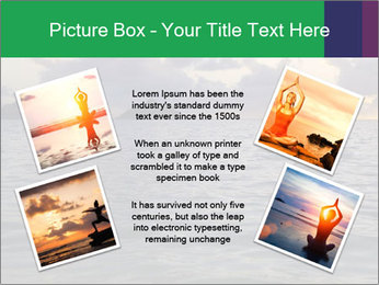 Woman doing yoga PowerPoint Template - Slide 24