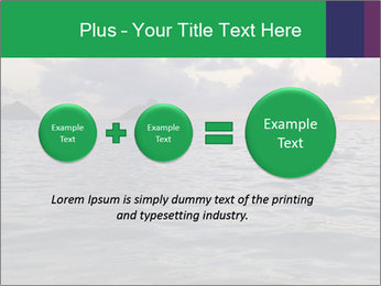 Woman doing yoga PowerPoint Templates - Slide 75