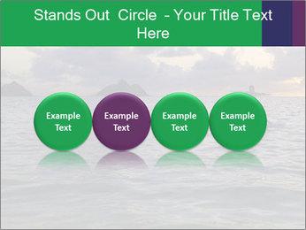 Woman doing yoga PowerPoint Templates - Slide 76