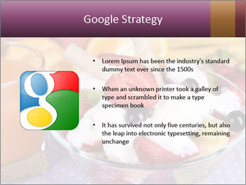 Fresh fruits PowerPoint Template - Slide 10