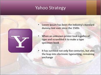 Fresh fruits PowerPoint Template - Slide 11