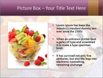 Fresh fruits PowerPoint Template - Slide 13