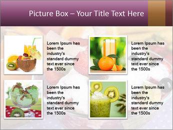Fresh fruits PowerPoint Template - Slide 14