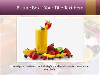 Fresh fruits PowerPoint Template - Slide 16