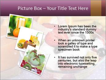 Fresh fruits PowerPoint Template - Slide 17