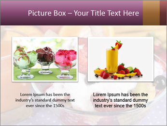 Fresh fruits PowerPoint Template - Slide 18