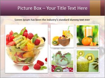 Fresh fruits PowerPoint Template - Slide 19