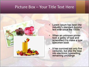 Fresh fruits PowerPoint Template - Slide 20