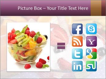 Fresh fruits PowerPoint Template - Slide 21