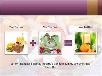 Fresh fruits PowerPoint Template - Slide 22