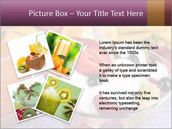 Fresh fruits PowerPoint Template - Slide 23