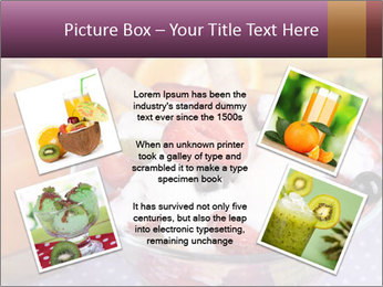 Fresh fruits PowerPoint Template - Slide 24