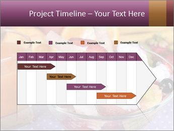 Fresh fruits PowerPoint Template - Slide 25