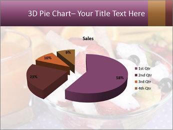 Fresh fruits PowerPoint Template - Slide 35