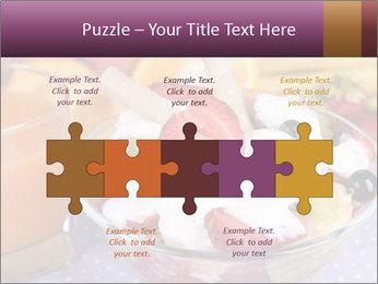 Fresh fruits PowerPoint Template - Slide 41