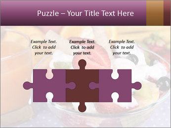 Fresh fruits PowerPoint Template - Slide 42